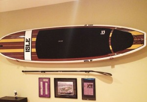 Olo paddle board rack